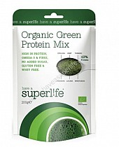 superpotravina Organic Green Protein Mix 200g exp.10/17